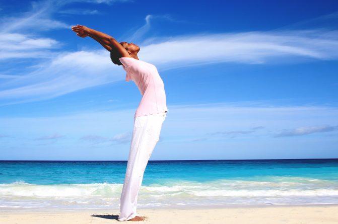 "<div style=""font-family: catamaran; color: #ffffff"">Ashram: Sivananda Yoga Retreat</br><span style=""font-size: .8em"">Paradise Island, Bahamas</span></div>"