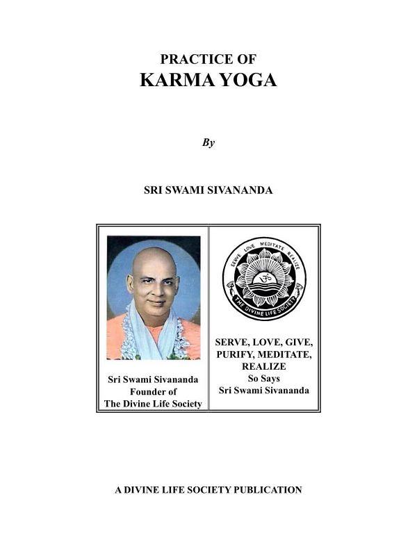 "<span style="""">Practice of Karma Yoga</span>"