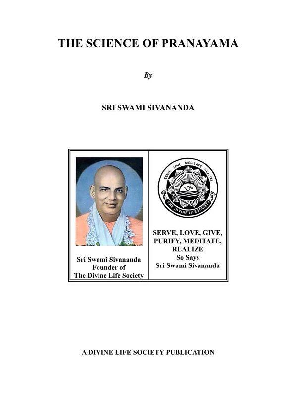 """<span style="""""""">The Science of Pranayama</span>"""