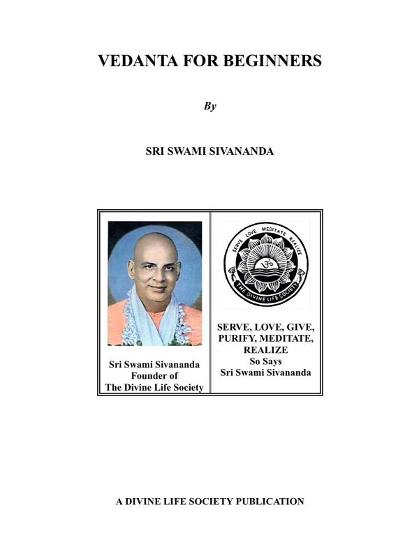 "<span style="""">Vedanta for Beginners</span>"